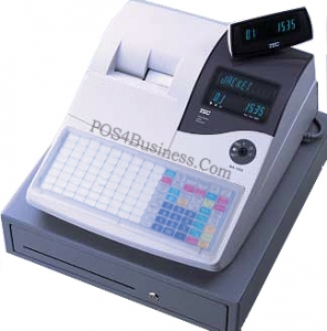 TEC MA-1535 Cash Register - Flat Keyboard