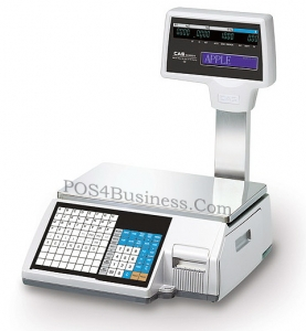 CAS Scale CL-5000R - Label Printing