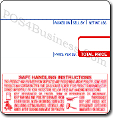 CAS Scale Labels - LP-1000 & LP-II - LST-8040
