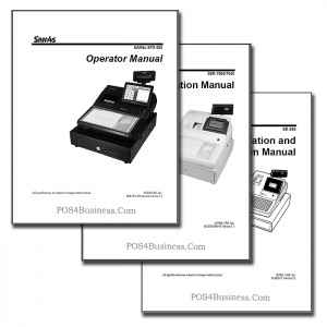 Samsung SAM4S Cash Register Manual - PDF