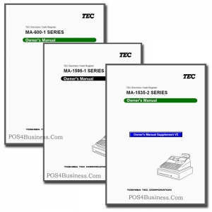 TEC Cash Register Manual - PDF