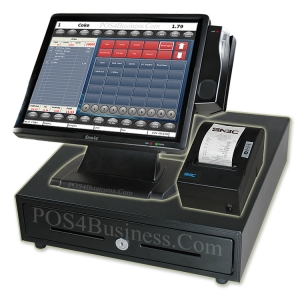 Sam4S NCC SPT-4846 Touch Screen POS Bundle