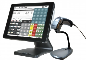Sam4S NCC SPT-S260 Touch Screen POS Bundle