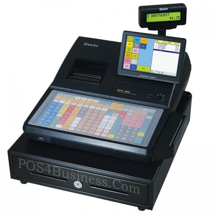Sam4s Sps 530 Cash Register Sam4s Sps 530 Ft Cash Register
