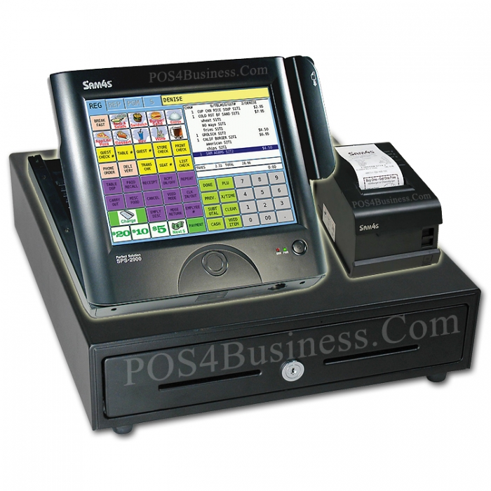 Sam4s Sps 2000 Touch Screen Pos Bundle