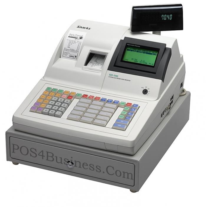 sam4s samsung ser 7040 cash register. Black Bedroom Furniture Sets. Home Design Ideas
