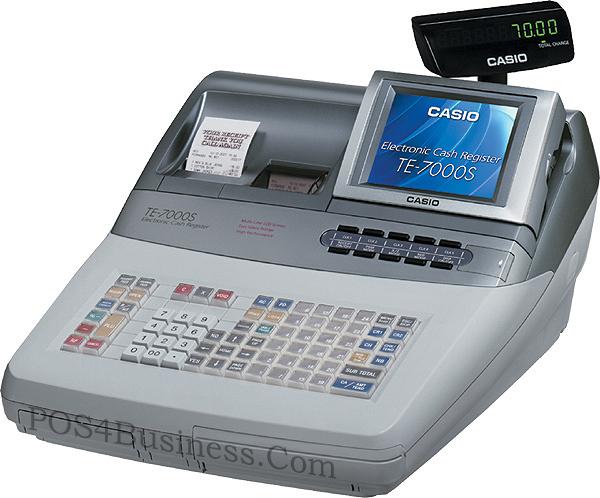 Casio Te 7000s Cash Register