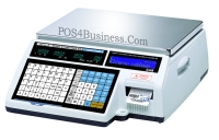 CAS Scale CL-5000B - Label Printing <br>  60 LB with network card installed