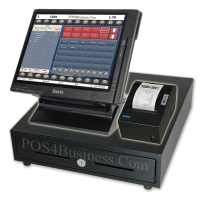 NCC SPT-3000 Touch Screen POS Bundle