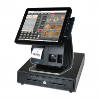 NCC SPT-7640 Touch Screen POS Bundle