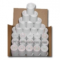 "Thermal Paper Rolls - 3 1/8"" x 220' - 50 Rolls/Box"